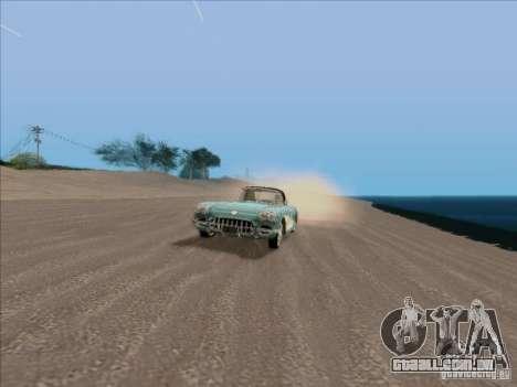 ENBSeries para GTA San Andreas quinto tela