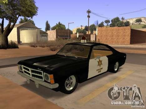 Chevrolet Opala Police para GTA San Andreas
