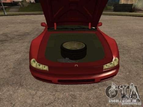 HD Cheetah para GTA San Andreas vista direita