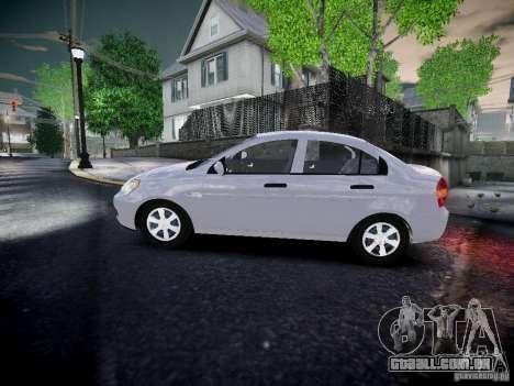 Hyundai Accent Era para GTA 4 esquerda vista