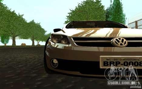 Volkswagen Saveiro para GTA San Andreas traseira esquerda vista