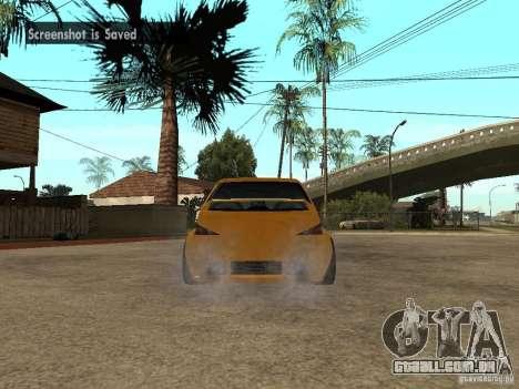 Peugeot 106 Tuning para GTA San Andreas esquerda vista