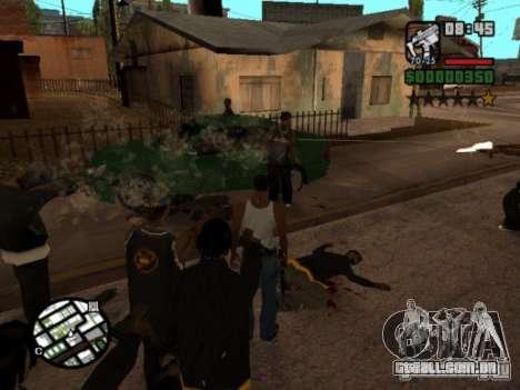 Call of Homies para GTA San Andreas terceira tela