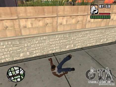 PARKoUR para GTA San Andreas décimo tela
