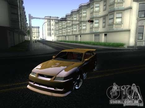 Ford Mustang SVT Cobra para GTA San Andreas esquerda vista