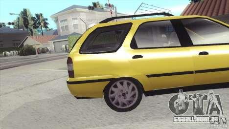 Fiat Palio Weekend 1997 para GTA San Andreas vista direita