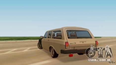 GAZ-310221 601 para GTA San Andreas esquerda vista