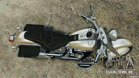 Harley Davidson Softail Fat Boy 2013 v1.0 para GTA 4 vista direita