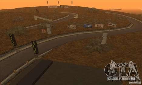 A rota do NFS Prostreet para GTA San Andreas