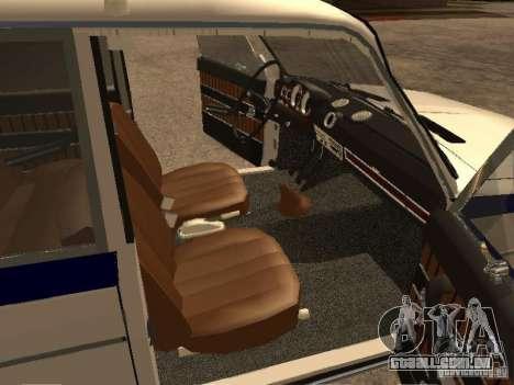 Polícia VAZ 2103 para GTA San Andreas vista direita