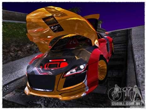 Audi R8 Calibri-Ace para GTA San Andreas vista direita