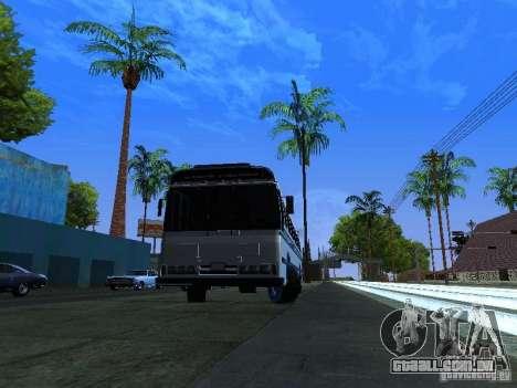 Prison Bus para GTA San Andreas traseira esquerda vista