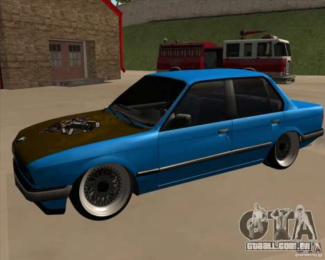 BMW E30 325e Duscchen para GTA San Andreas vista direita