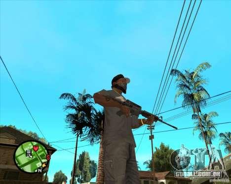 M4 Carbine para GTA San Andreas segunda tela