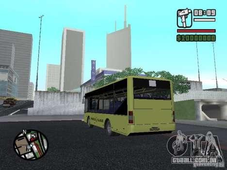 A099 LAZ (SitiLAZ 8) para GTA San Andreas
