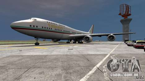 Real Emirates Airplane Skins Flagge para GTA 4
