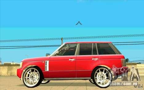 NFS:MW Wheel Pack para GTA San Andreas twelth tela