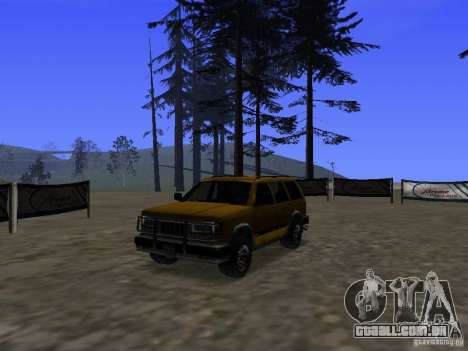Mountainstalker S para GTA San Andreas vista interior