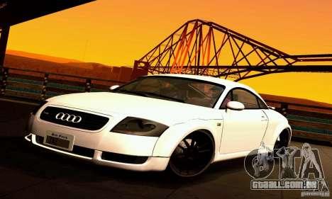 Audi TT Light Tuning para GTA San Andreas