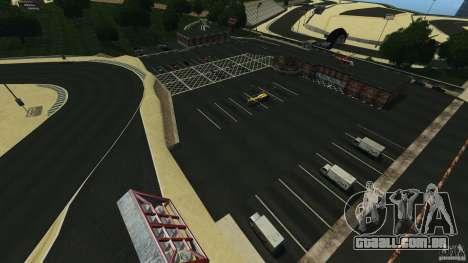 Laguna Seca [HD] Retexture para GTA 4 por diante tela