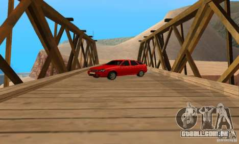 Van LADA priora para GTA San Andreas vista direita