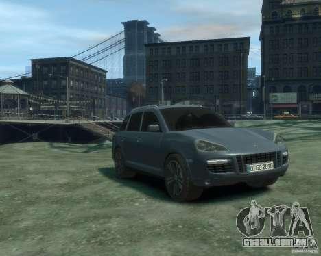 PORSCHE Cayenne turbo S 2009 para GTA 4 vista direita