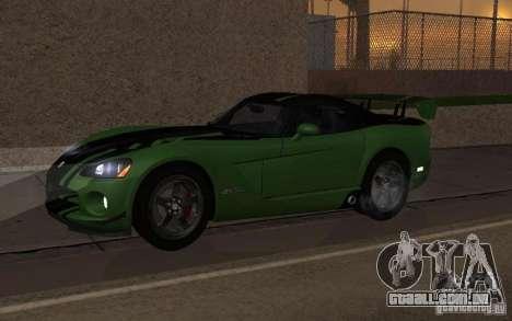 Dodge Viper um pequeno ajuste para GTA San Andreas