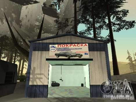 A aldeia de Ivanovka para GTA San Andreas quinto tela