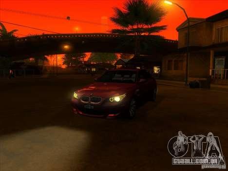 ENBSeries by Fallen para GTA San Andreas segunda tela
