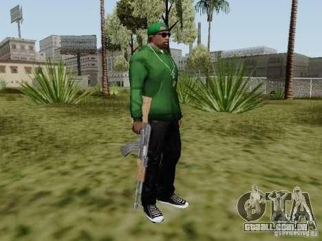 AK-47 de Saints Row 2 para GTA San Andreas quinto tela