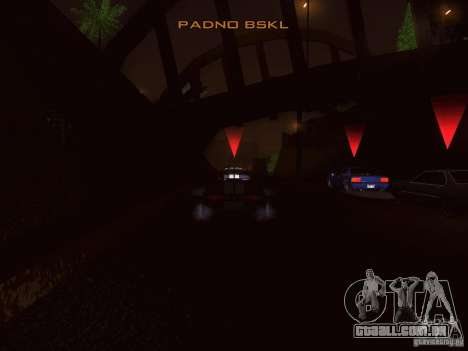 NFS GTA RACE V4.0 para GTA San Andreas terceira tela
