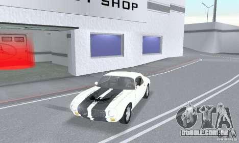 Pontiac Trans Am 1967-1969 para GTA San Andreas traseira esquerda vista