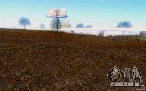 Behind Space Of Realities 2013 para GTA San Andreas segunda tela