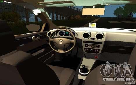 Volkswagen Saveiro para GTA San Andreas vista direita