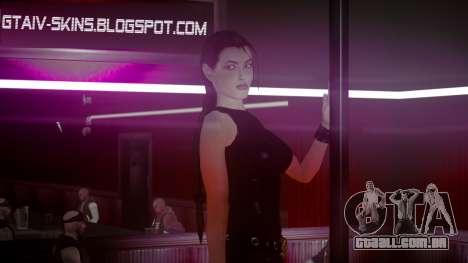 Angelina Jolie (Tomb Raider) para GTA 4 terceira tela