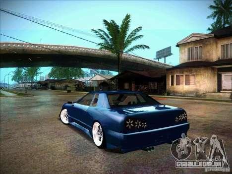 Elegy JDM Tuned para GTA San Andreas esquerda vista