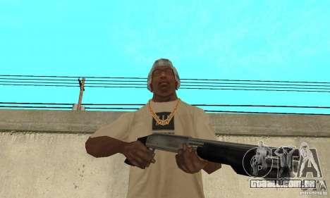 Forças especiais de espingarda para GTA San Andreas terceira tela