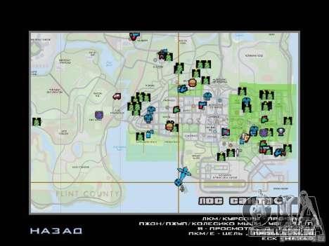 Trilha de inverno para GTA San Andreas décimo tela