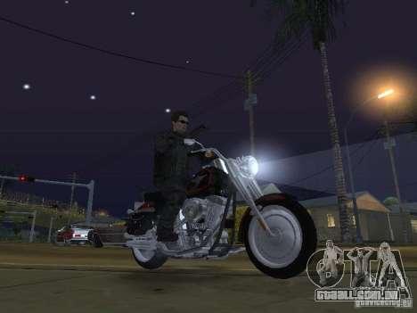 Terminator para GTA San Andreas quinto tela
