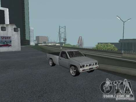 Nissan Pick-up D21 para GTA San Andreas vista superior