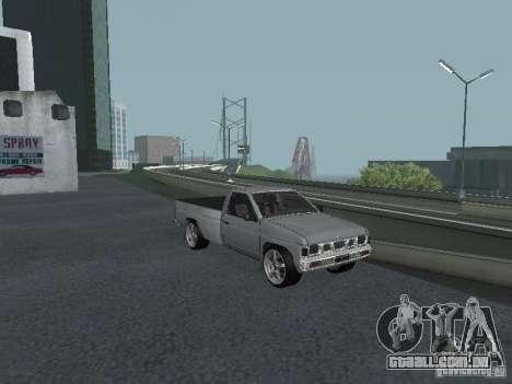 Nissan Pick-up D21 para GTA San Andreas vista superior