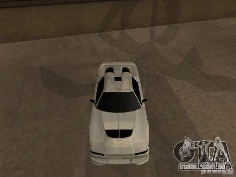 Infernus GT para GTA San Andreas esquerda vista