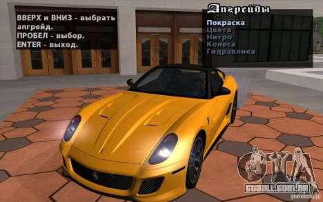 Mobile TransFender para GTA San Andreas