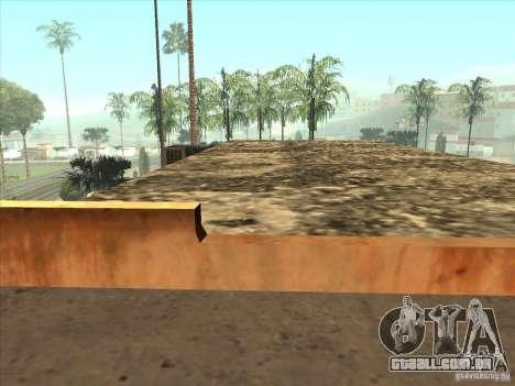 Mapa de Parkour e bmx para GTA San Andreas oitavo tela