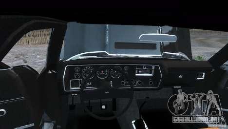 Chevrolet El Camino SS 1970 para GTA 4 traseira esquerda vista