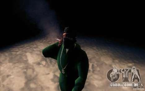 Cigarro realista para GTA San Andreas terceira tela