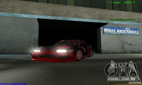 Nissan Silvia S13 Tunable para GTA San Andreas vista traseira