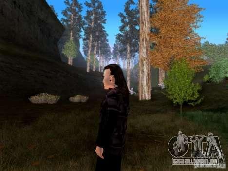 Skrillex para GTA San Andreas terceira tela