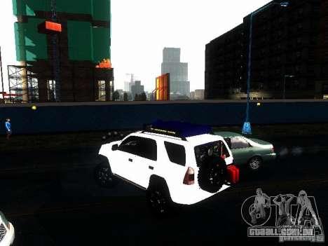 Toyota 4Runner 4X4 para GTA San Andreas esquerda vista