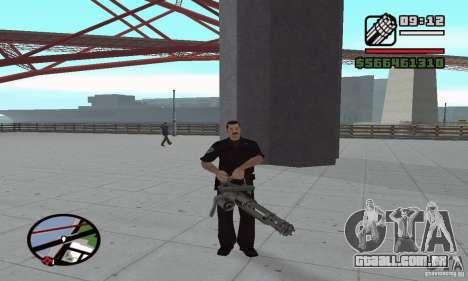 Reencarnação em um morador da cidade para GTA San Andreas terceira tela